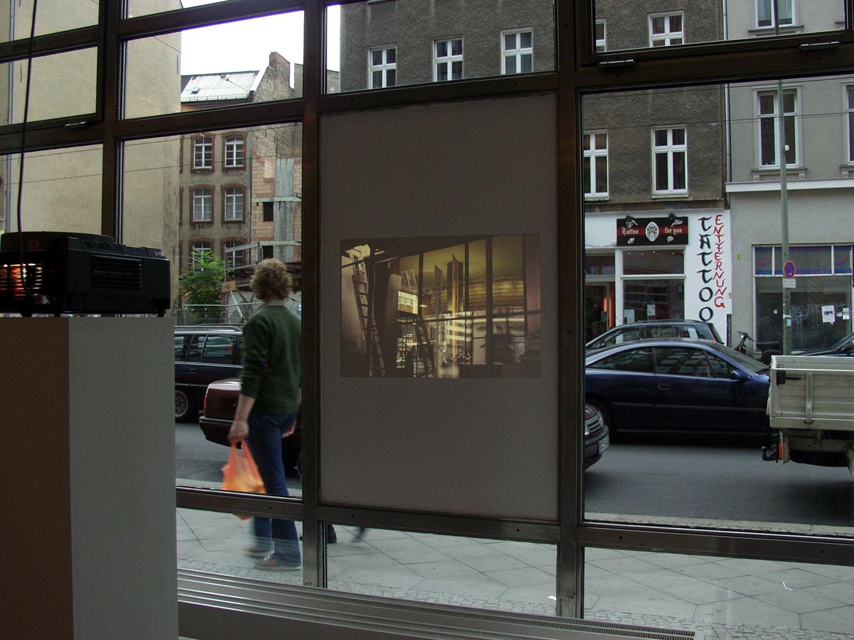 Installation view, Kunstbank Berlin