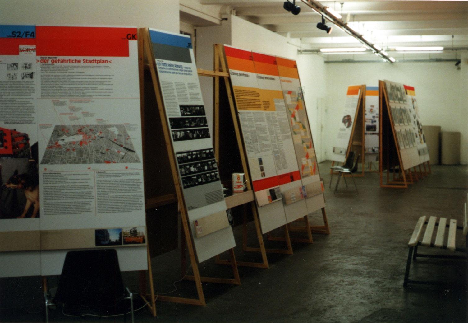 Installation View, Neue Gesellschaft für Bildende Kunst